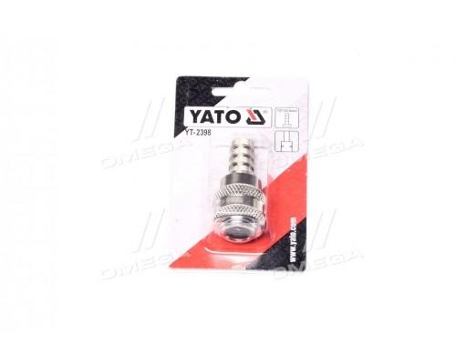Быстросъемный наконечник к шлангу o = 12.5 мм(про-во YATO)