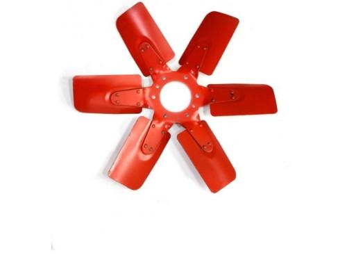 Крыльчатка вентилятора Д-65 ЮМЗ