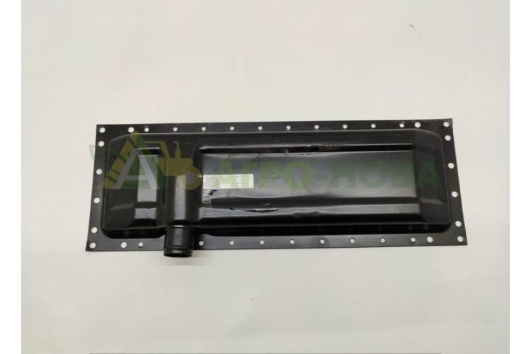 Бак радиатора нижний ЮМЗ (оцинкованный) - 36-1301070-Б - фото 1