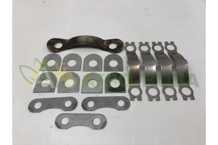 Комплект стопорных пластин двигателя Д-65 - П-Д65 - фото 1