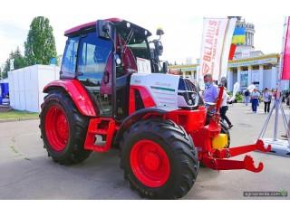 В Украине, на выставке Агро-2020, представили трактор МТЗ нового поколение.