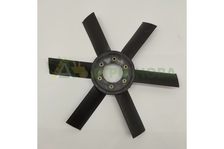 Крыльчатка вентилятора ЮМЗ - Д65-1308050П - фото 1