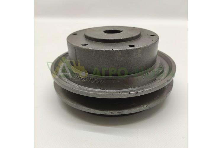 Шкив водяного насоса 2-х ручейный ЮМЗ Д-65 - Д65-1307016 - фото 1