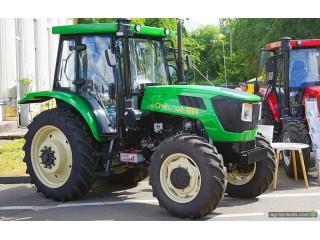 На проходящей в Киеве выставке Агро-2020, представили трактор Сичеслав-1604