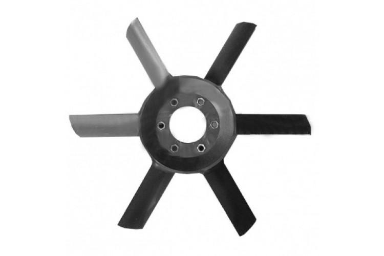 Крыльчатка вентилятора МТЗ (6 лопастей) - 245-1308010-01 - фото 1
