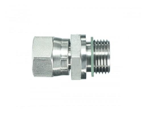 Адаптер S24-S24 (М20х1.5-М20х1.5) (штуцер S24 - гайка S24)