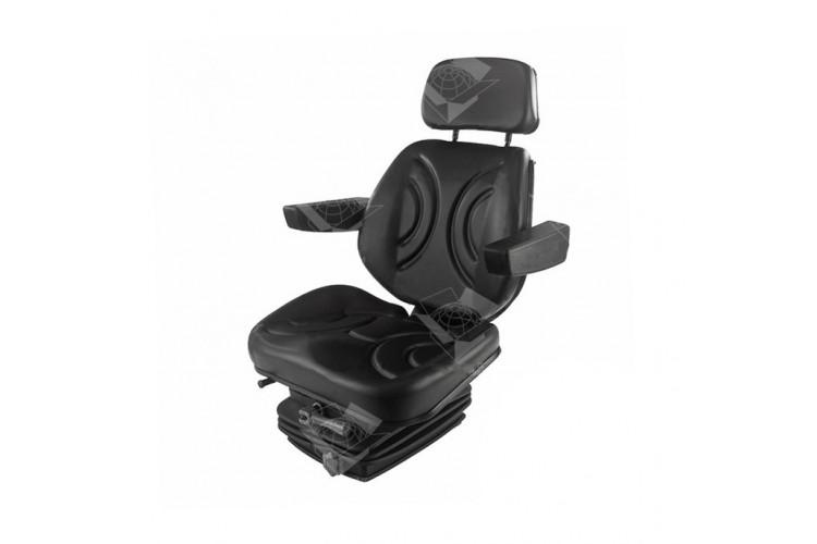 Сиденье универсальное (МТЗ, ЮМЗ-6, Т-40, Т-25, Т-16, Т-150) кресло с амортизацией - МТЗ, ЮМЗ-6, Т-40, Т-25, Т-16, Т-150 - фото 1