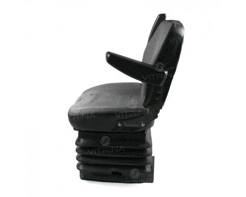 Сиденье гидравлическое МТЗ УК с подлокотниками (регулируемая спинка)
